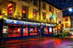 Ireland, Broadway Shows, Digital Art, Bar, City, Cities, Irish