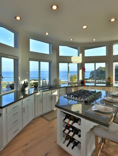 Most Popular ideas for modern house interior kitchen dreams Dream Home Design, Home Interior Design, My Dream Home, Mansion Interior, Modern House Design, Dream Beach Houses, Florida Beach Houses, Luxury Homes Dream Houses, Aesthetic Rooms