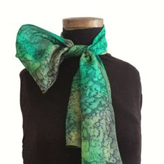 We are proud to present our exclusive collection of scarves. Each scarf is unique and made entirely by hand using the finest quality of silk. Scarves, Hand Painted, Silk, Trending Outfits, Unique Jewelry, Handmade Gifts, Awesome, Etsy, Vintage