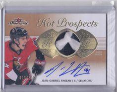 Jean Gabriel Pageau Patch Autograph /175 Hockey, Ottawa, Gabriel, Patches, Frame, Sports, Cards, Sport, A Frame