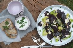 Jarní salát z červené řepy Vegetables, Cooking, Blog, Creative, Kitchen, Vegetable Recipes, Blogging, Brewing, Cuisine