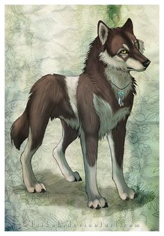 Lyka is a fierce male who is very protective over this Alpha, he has s small crush on her but doesn't make it obvious. He loves to hunt and finds completing a task very satisfying, he's the largest dog in the pack. no mate but crush on razor . beta. me.
