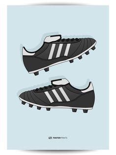 3ec7e7338 Adidas Copa Mundial Football Poster. Mundial FootballAdidas OriginalsAdidas  SneakersAdidas Shoes