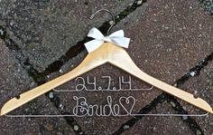 Wedding dress hanger etsy