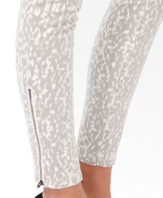 Life In Progress™ Mirrored Animal Skinnies | FOREVER21 - 2027705772