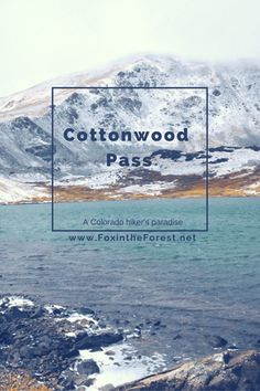 A great local gem in Colorado boasting free camping and tons of hiking! Also home to many of Colorado's 14ers. Get your mountain on!