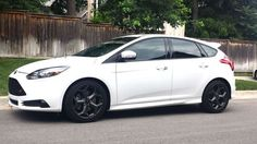 2015 Ford Focus ST White