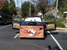 turn your truck into mater the tow truck from disneys cars - Halloween Decorated Cars