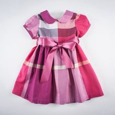 Moldes para hacer vestidos con cuello peter pan para niñas02