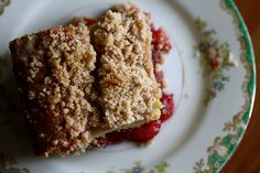 Strawberry Coffee Cake by joy the baker
