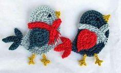 Oiseaux crochet