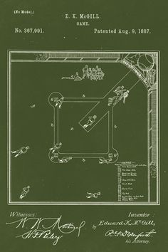 Keep Calm Collection - Game Of Baseball Patent Art Poster Print (http://www.keepcalmcollection.com/game-of-baseball-patent-art-poster-print/)