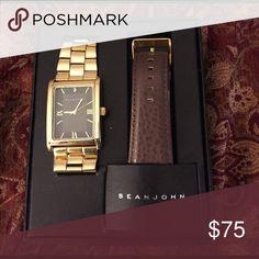 Men's Gold Watch Sean John Watch Sean John Accessories Watches
