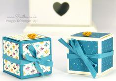 Fold Flat Bohemian Cube Box Tutorial