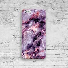 Pink Marble iPhone 6 Case Purple iPhone 7 Case by ByKustomKase                                                                                                                                                                                 More