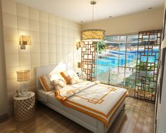 After a long day, imagine coming home to this...     azure.com.ph  for more info pls contact francisco pareja @  khikopareja@gmail.com Long Day, Interior Decorating, Condos, Bed, Room, Urban, Furniture, Chic, Home Decor