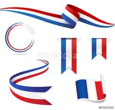 Vector: Francia bandiera