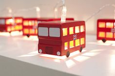 London Bus Fairy Lights from notonthehighsteet.com