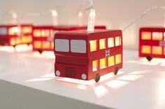 London Bus Fairy Lights from notonthehighsteet.com