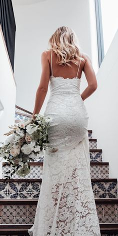 46 Amazing Summer Wedding Dress Ideas - There are two kinds of summer wedding dresses. To start with, there are the formal outfits done in the customary style. Western Wedding Dresses, Wedding Dresses With Straps, Princess Wedding Dresses, Dream Wedding Dresses, Bridal Dresses, Wedding Gowns, Spagetti Strap Wedding Dress, Modest Wedding, Reception Dresses