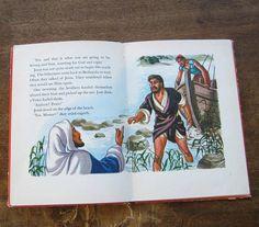 Vintage Children's Christian Book People Jesus Loved