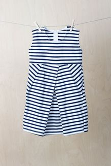 EM Pleatdress Kids Stripe