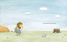 Il Leone e l'uccellino di Orecchio Acerbo è un albo profondo e misurato, che dà valore alla libertà, all'amicizia, al rispetto per se stessi e per la natura