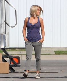OBSESSED with her hair in Safe Haven. If I ever go short again...