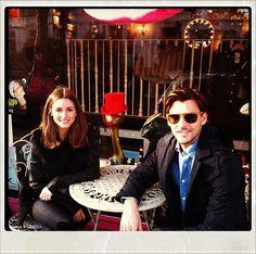 THE OLIVIA PALERMO LOOKBOOK: Olivia Palermo with Johannes Huebl in Paris
