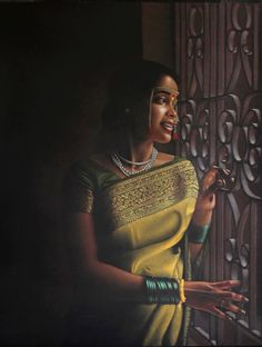 Kala Ksetram : Art by Shashikant Dhotre India Painting, Woman Painting, Cute Babies Photography, Indian Photoshoot, India Art, Art Corner, Indian Artist, Color Pencil Art, Traditional Paintings