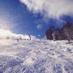1ères neiges de la saison 2014-2015 sur le massif du #Devoluy ! #MyHautesAlpes