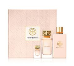 A super-chic Mother's Day gift — a selection of essentials from the first Tory Burch Fragrance Collection