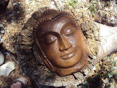 Beautiul Buddha Art Stone Ready to Hang by MountainArtCasting, $23.95