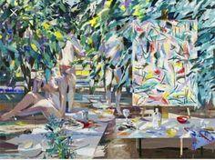 Alfonso Albacete Jasper Johns, The Flash, Jigsaw Puzzles, Painting, Google, Art Museum, Pintura, Figurative, Abstract