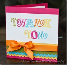 Stampin' Up - Thank You