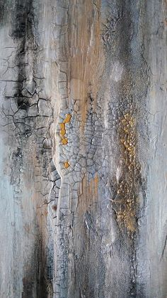 Magic 20 x 24 Gold Leaf Original Texture Abstract Painting