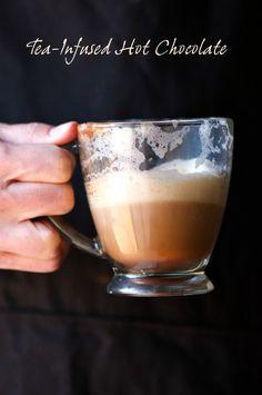 Skinny Tea Infused Hot Chocolate