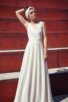 Les robes de mariée - Anne De Lafforest - Collection 2017 | Robe de mariée : Alicante | Photographe : Charlotte studio | Donne-moi ta main - Blog mariage