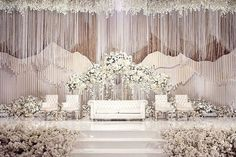 The Wedding of Kenneth amp; Novita Decoration by royaldesign_decor Lighting by lumens_indo Wedding Cake by lenovellecake MC by Best Picture For wedding decorations reception For Your Taste You are loo Royal Wedding Guests Outfits, Royal Wedding Themes, Royal Wedding Invitation, Royal Wedding Gowns, Wedding Invitation Background, Royal Weddings, Wedding Dress, Wedding Attire, Hindu Weddings