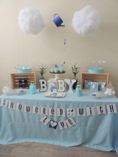Showered with Love Baby Shower | Black Twine