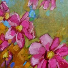 """Daily Paintworks - """"Free to be me"""" - Original Fine Art for Sale - © Jean Delaney"""