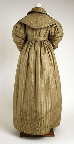 Pelisse Date: ca. 1830 Culture: British Medium: silk Accession Number: 13.49.18