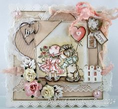 Crafty Little Fairies DT Card | Sticky With Icky | Bloglovin'