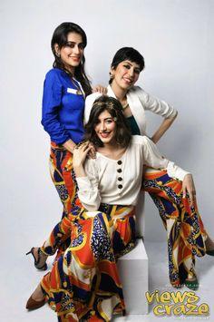 SISTERS. Alishba, Palwasha & Syra Yousuf Photo Shoot for Women's Own Magazine