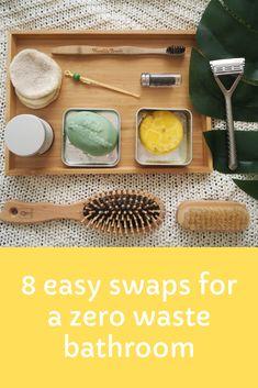 MissMirasa: 8 easy swaps for a zero waste bathroom Zero Waste, Bathroom, Easy, Blog, Washroom, Bathrooms, Bath