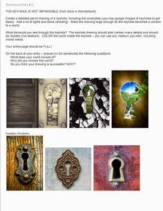 Virginia Heinl's ART Blog Teaching Art, Teaching Ideas, Sketchbook Assignments, Art Classroom Management, Ap Drawing, High School Art Projects, 3rd Grade Art, Art Worksheets, Principles Of Art