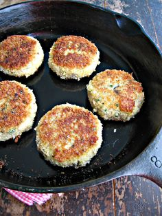 Mushrooms Canada Blog: Guest Post: Wild Mushroom & Asiago Risotto Cakes by Sweet Sugar Bean