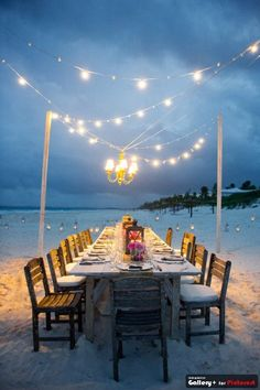Cute idea for rehearsal dinner...
