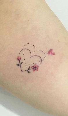 Delicate Tattoos: Check Out 40 Charming Ideas - I Love .- Tatuagens Delicadas: Confira 40 ideias encantadoras – Eu amo tatuagens Delicate Tattoos: Check Out 40 Charming Ideas – I Love Tattoos - Bff Tattoos, Mini Tattoos, Dainty Tattoos, Tatuajes Tattoos, Delicate Tattoo, Dream Tattoos, Friend Tattoos, Wrist Tattoos, Pretty Tattoos