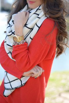 The Cutest Blanket Scarf In the World...